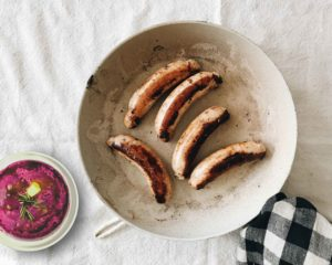 Fresher's Bangers & Mash with All-Natural Lamb Sausages